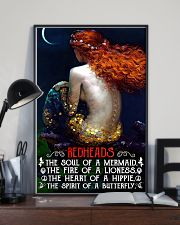 Redhead Girl The Soul Of A Mermaid 11x17 Poster lifestyle-poster-2