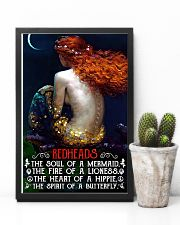 Redhead Girl The Soul Of A Mermaid 11x17 Poster lifestyle-poster-8