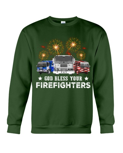 God bless your firefighters