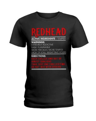 Redhead Ingredients