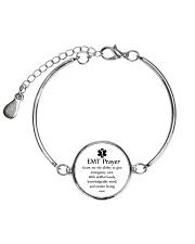Paramedic EMT Prayer Metallic Circle Bracelet thumbnail