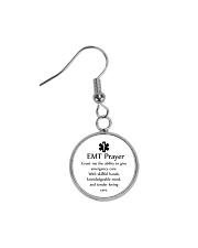 Paramedic EMT Prayer Circle Earrings thumbnail