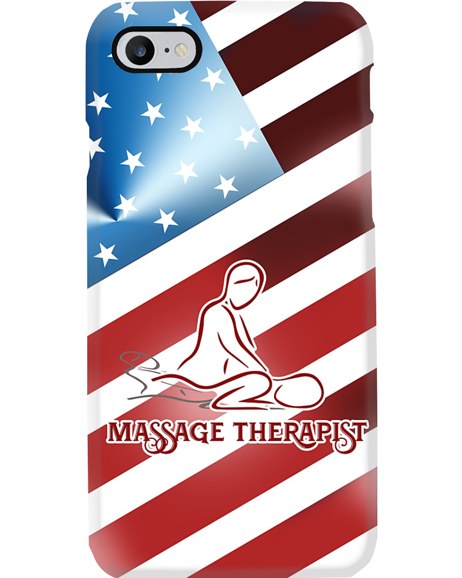 Massage Therapist Flag Phone Case