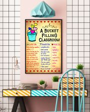 Teacher A Bucket Filling Classroom 11x17 Poster lifestyle-poster-6