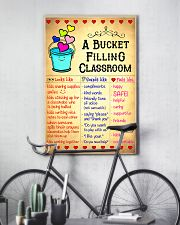 Teacher A Bucket Filling Classroom 11x17 Poster lifestyle-poster-7