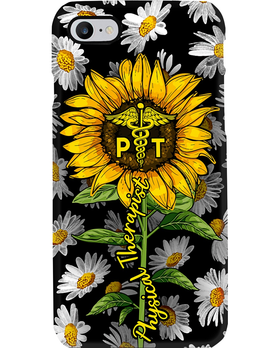Physical Therapist Sunflower Phone Case