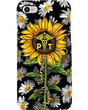 Physical Therapist Sunflower Phone Case i-phone-7-case
