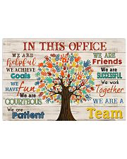 Physical Therapist We Are A Team 17x11 Poster front