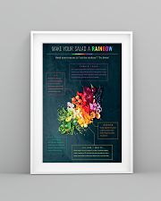 Dietitians Make your salad a rainbow Poster 11x17 Poster lifestyle-poster-5