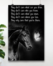 Horse Girl - They Only Care That You're There 11x17 Poster aos-poster-portrait-11x17-lifestyle-19