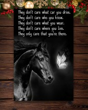 Horse Girl - They Only Care That You're There 11x17 Poster aos-poster-portrait-11x17-lifestyle-22