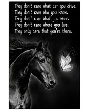 Horse Girl - They Only Care That You're There 11x17 Poster front
