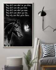 Horse Girl - They Only Care That You're There 11x17 Poster lifestyle-poster-1