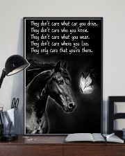 Horse Girl - They Only Care That You're There 11x17 Poster lifestyle-poster-2