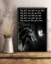 Horse Girl - They Only Care That You're There 11x17 Poster lifestyle-poster-3