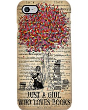 Just A Girl Who Loves Books Phone Case i-phone-7-case