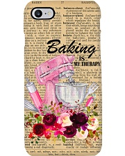 Baking Is My Therapy Phone Case i-phone-7-case