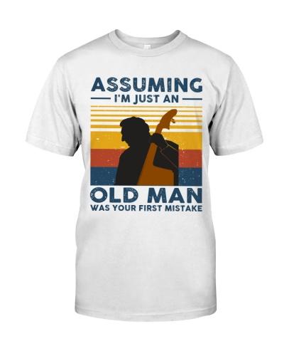 Contrabass Assuming I'm Just An Old Man