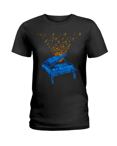 Pianist Blue Piano