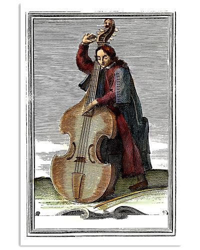 Contrabass  and Musician
