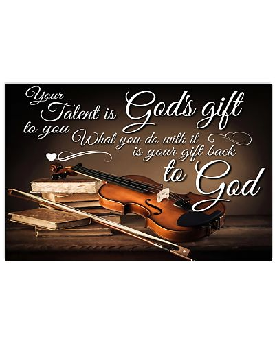 Violin Your talent is God's gift