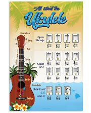 All About The Ukulele 11x17 Poster front