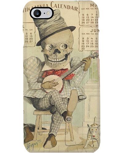 Vintage Skeleton Plays Banjo