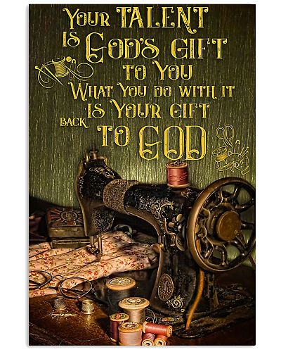 Sewing Your Talent Is God's Gift To You