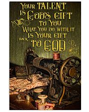 Sewing Your Talent Is God's Gift To You 11x17 Poster front
