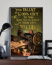 Sewing Your Talent Is God's Gift To You 11x17 Poster lifestyle-poster-2