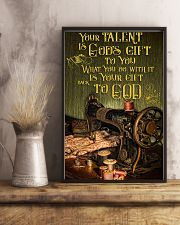 Sewing Your Talent Is God's Gift To You 11x17 Poster lifestyle-poster-3