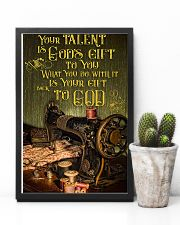 Sewing Your Talent Is God's Gift To You 11x17 Poster lifestyle-poster-8