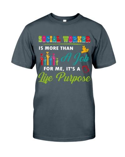 Social Worker is my purpose