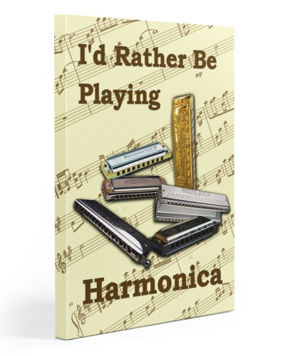 Rather Be Playing Harmonica
