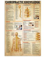 Chiropractor Chiropractic Knowledge 11x17 Poster front