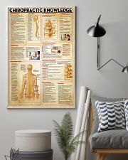Chiropractor Chiropractic Knowledge 11x17 Poster lifestyle-poster-1
