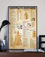 Chiropractor Chiropractic Knowledge 11x17 Poster lifestyle-poster-2