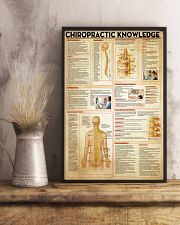 Chiropractor Chiropractic Knowledge 11x17 Poster lifestyle-poster-3