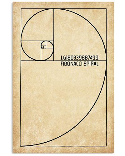 Science Fibonacci spiral