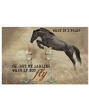 Horse Girl What If I Fall 17x11 Poster front