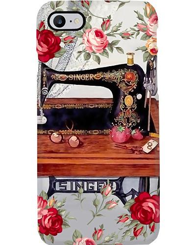 Beautiful Rose Sewing Machine