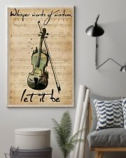 Violin Whisper Words Of Wisdom Let It Be 11x17 Poster lifestyle-poster-1