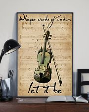 Violin Whisper Words Of Wisdom Let It Be 11x17 Poster lifestyle-poster-2