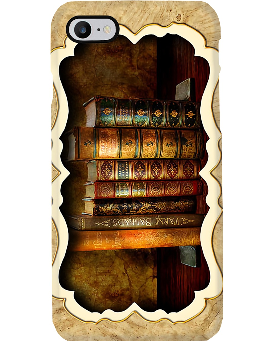 Librarian Book Phone Case
