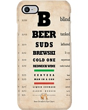 Optometrist Beer Chart Phone Case i-phone-7-case