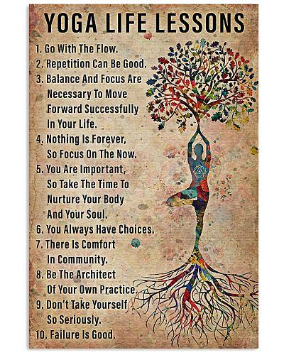 Yoga life lessons