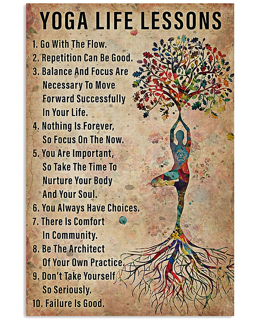 Yoga life lessons 11x17 Poster