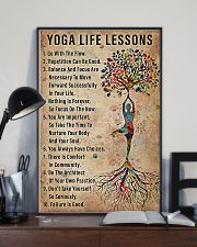 Yoga life lessons 11x17 Poster lifestyle-poster-2