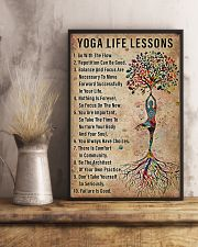 Yoga life lessons 11x17 Poster lifestyle-poster-3