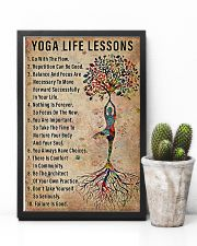 Yoga life lessons 11x17 Poster lifestyle-poster-8